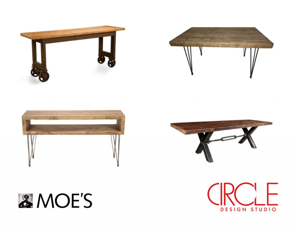 Have You Been Dying To Get Your Hands On A Great Reclaimed Wood Table Here Are Some Amazing And Affordable Options From Moe S Home Collection