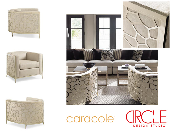 Check Out Our Friday Furniture Featureu2026the Icebreaker Chair By Caracole.  This Fabulously Elegant Chair Puts A Fun Spin On The Traditional Chair With  An U201c ...