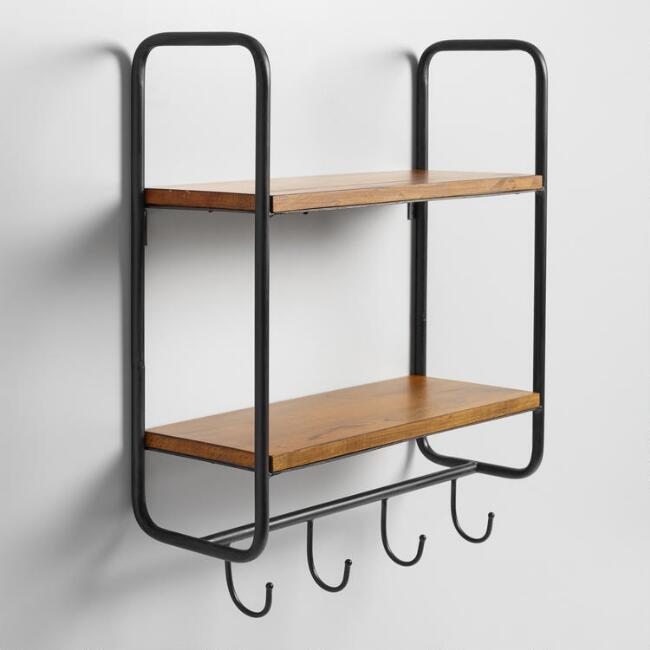 wall-shelf-with-hooks
