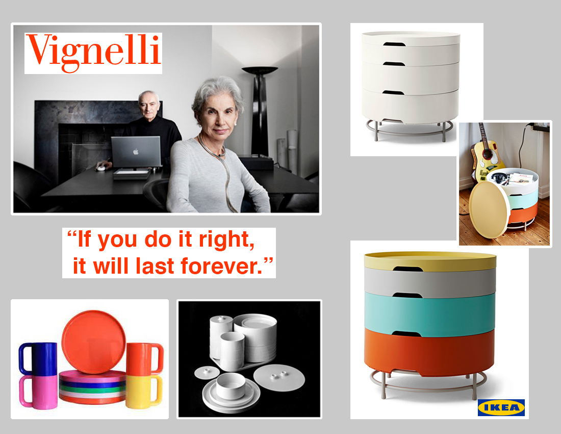 Vignelli and IKEA Observation