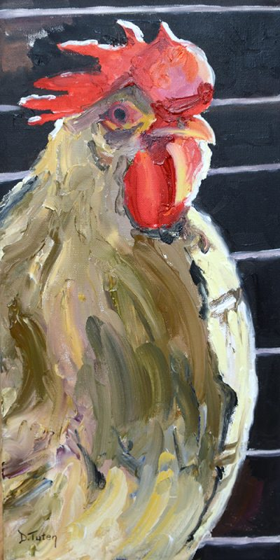 rooster-in-profile-donna-tuten
