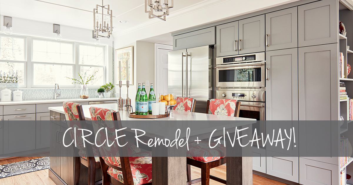 Roanoke Kitchen Remodel by CIRCLE + Giveaway!
