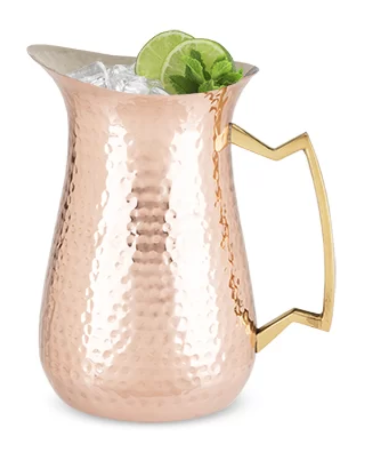 hammered outdoor pitcher