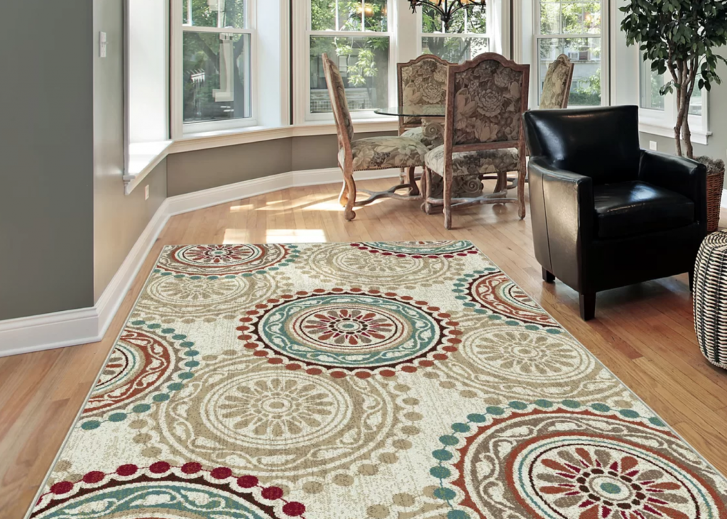 area rug for spring