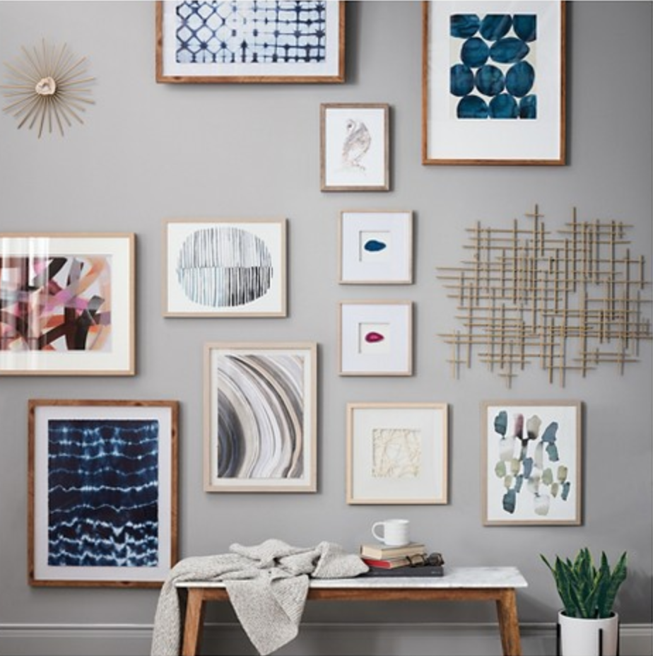 spring wall gallery