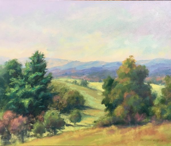 Nan Mahone Wellborn, Roanoke landscape painting