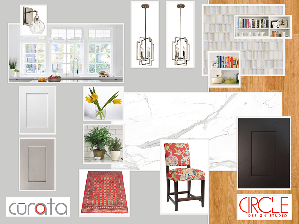 Mood Board Monday: Bright, Updated Traditional Kitchen Design