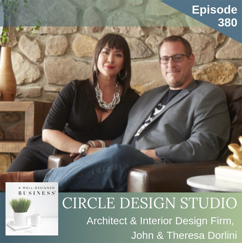 John & Theresa Featured on A Well-Designed Business®